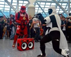 WonderCon Cosplay Saturday 2016 205 Red Hip Hop Trooper Moon Knight