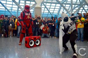 WonderCon Cosplay Saturday 2016 206 Red Hip Hop Trooper Moon Knight