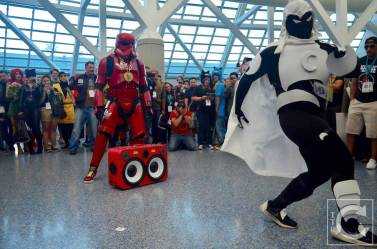WonderCon Cosplay Saturday 2016 207 Red Hip Hop Trooper Moon Knight
