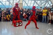 WonderCon Cosplay Saturday 2016 208 Red Hip Hop Trooper Lady Deadpool
