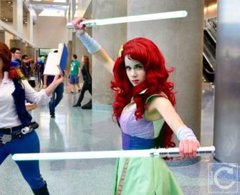 WonderCon Cosplay Saturday 2016 209 Jedi Ariel Little Mermaid Star Wars Mashup