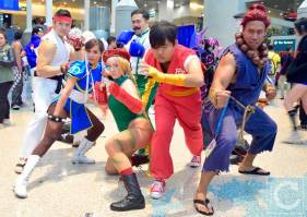WonderCon Cosplay Saturday 2016 213 Street Fighter Group