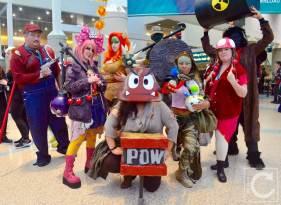 WonderCon Cosplay Saturday 2016 214 Apocaplyse Super Mario Group