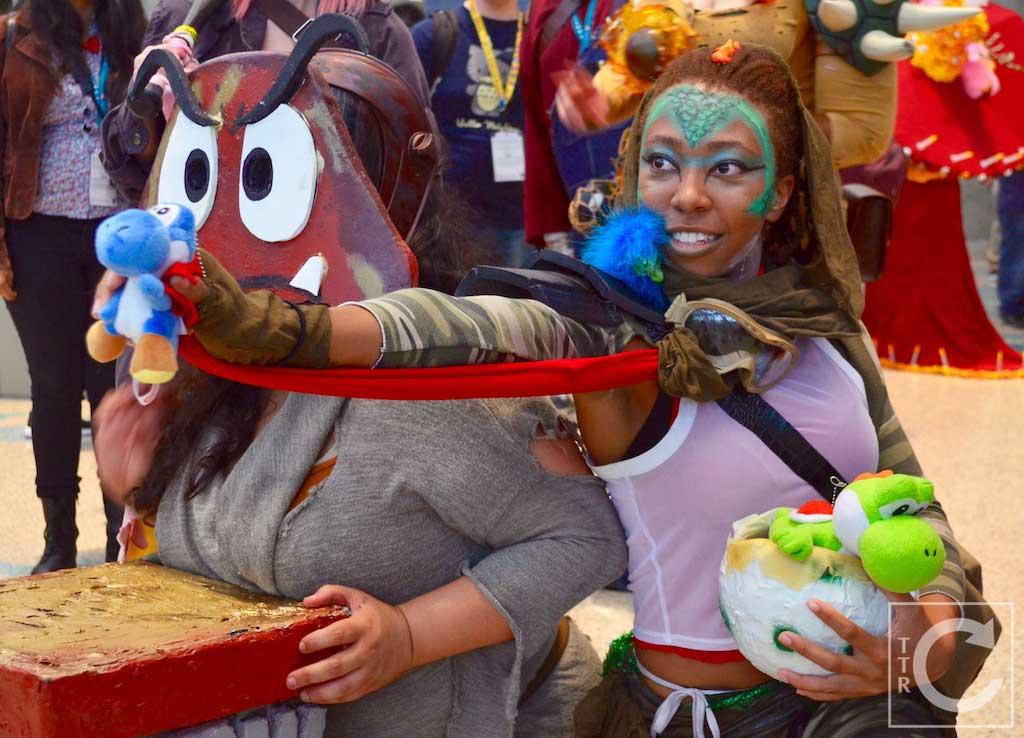 Wondercon Cosplay Saturday 2016 215 Yoshi Goomba Super Mario
