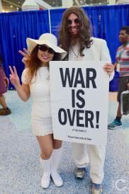 WonderCon Cosplay Saturday 2016 219 John Lennon Yoko Ono