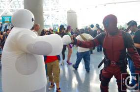 WonderCon Cosplay Saturday 2016 37 Deadpool Baymax