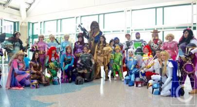 WonderCon Cosplay Saturday 2016 50 Disney Star Wars Mashup Boba Fett Mickey's Mandos