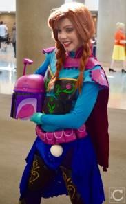 WonderCon Cosplay Saturday 2016 62 Boba Fett Anna Frozen Mashup