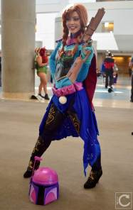 WonderCon Cosplay Saturday 2016 63 Boba Fett Frozen Anna LifeOfShel