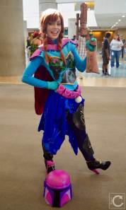 WonderCon Cosplay Saturday 2016 64 Boba Fett LifeOfShel Anna Frozen
