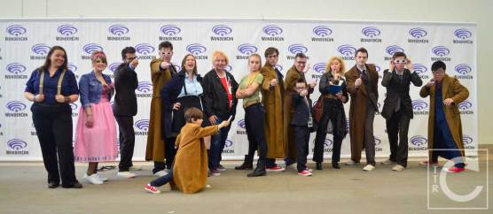 WonderCon Cosplay Saturday 2016 88 Doctor Who Doctors