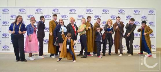WonderCon Cosplay Saturday 2016 89 Doctor Who Doctors