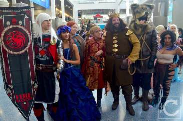 WonderCon Cosplay Saturday 2016 94 Game of Thrones Group
