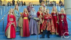 WonderCon Cosplay Saturday 2016 98 Game of Thrones Cersei King's Landing Group