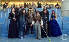 WonderCon Cosplay Saturday 2016 99 Game of Thrones Winterfell Group