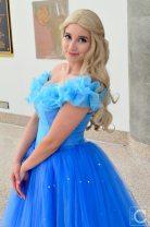 WonderCon Cosplay Sunday 2016 13 Cinderella Blue Dress
