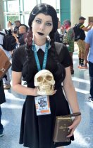 WonderCon Cosplay Sunday 2016 15 Wendesday Addams Family