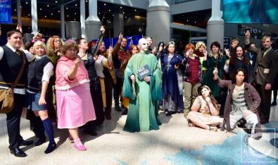 WonderCon Cosplay Sunday 2016 21 Harry Potter Group