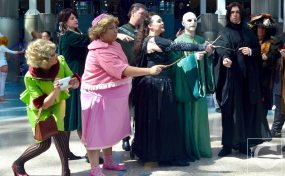 WonderCon Cosplay Sunday 2016 23 Harry Potter Death Eaters