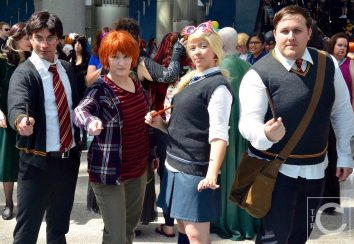 WonderCon Cosplay Sunday 2016 27 Harry Potter Students