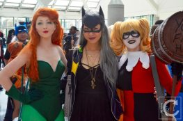 WonderCon Cosplay Sunday 2016 29 Poison Ivy Batgirl Harley Quinn