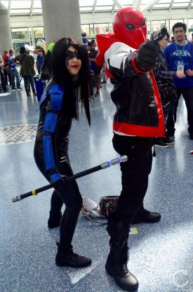 WonderCon Cosplay Sunday 2016 30 Nightwing Red Hood