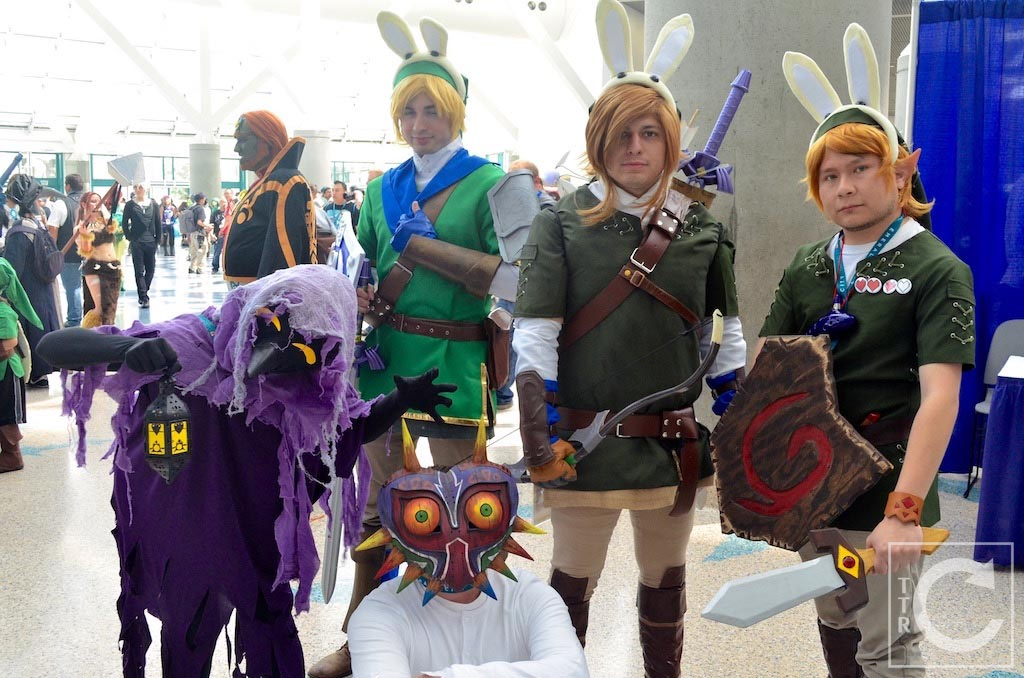 WonderCon Cosplay Sunday 2016 39 Link The Legend of Zelda Majora's Mask
