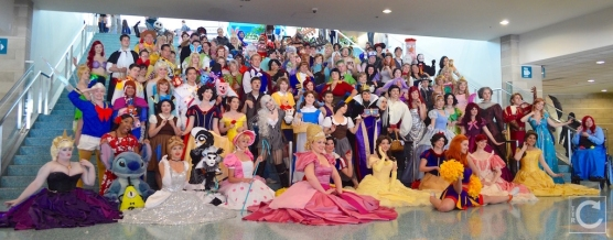 WonderCon Cosplay Sunday 2016 41 Disney Character Group