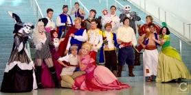 WonderCon Cosplay Sunday 2016 46 Disney Prince Group