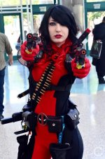 WonderCon Cosplay Sunday 2016 50 Lady Deadpool