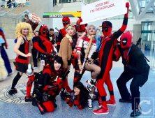 WonderCon Cosplay Sunday 2016 51 Deadpool Group