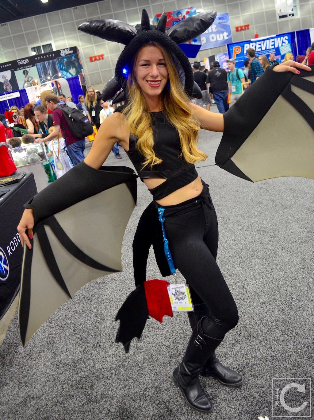 Wondercon cosplay sunday 2016 62 toothless how to train your dragon wondercon cosplay sunday 2016 62 toothless how to train your dragon girl ccuart Images