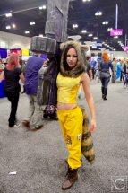 WonderCon Cosplay Sunday 2016 66 Rocket Raccoon Crossplay