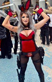 WonderCon Cosplay Sunday 2016 91 Deadpool Playboy Bunny
