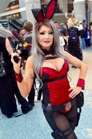 WonderCon Cosplay Sunday 2016 92 Playboy Bunny Deadpool
