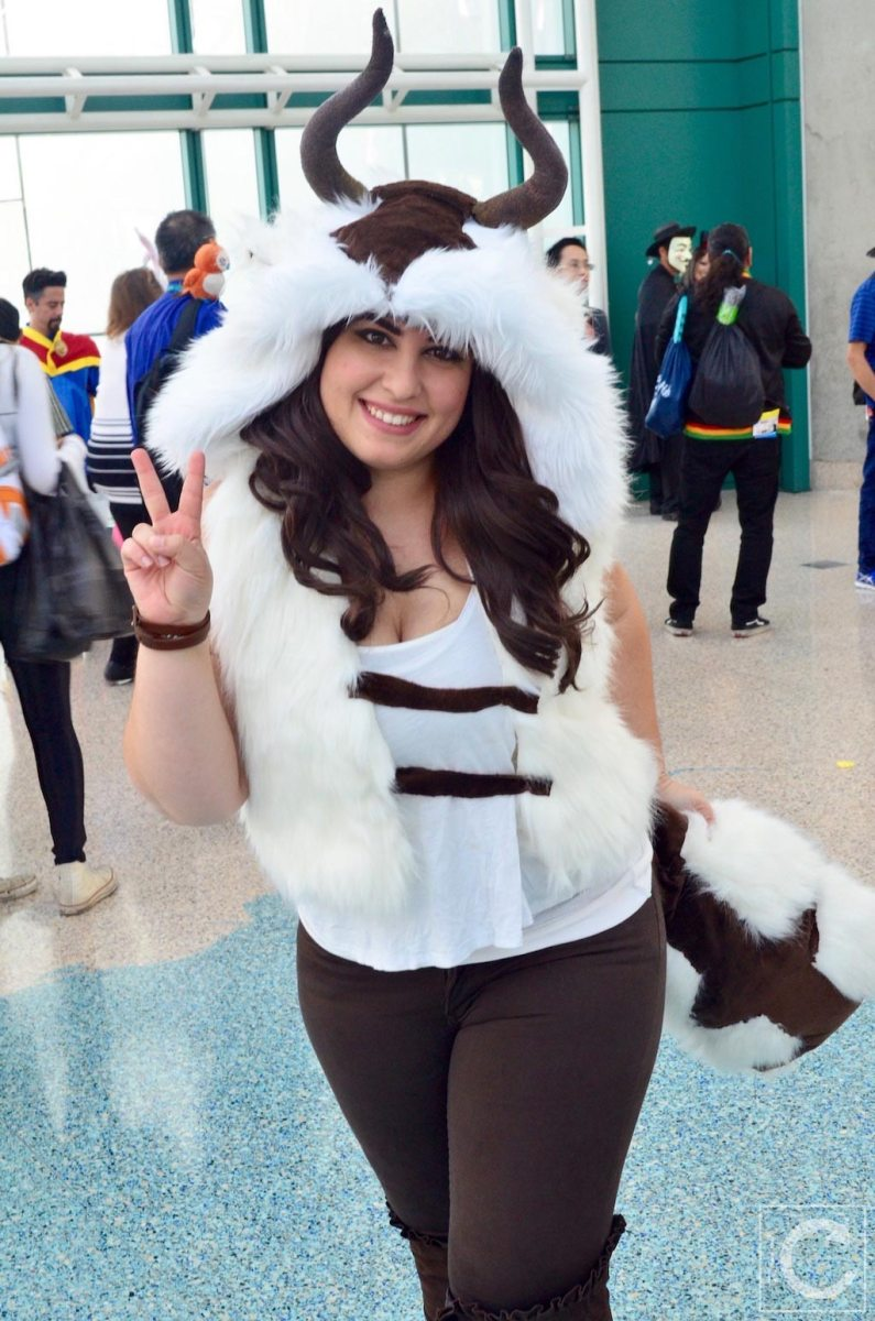 WonderCon Cosplay Sunday 2016 95 Appa Avatar The Last Airbender