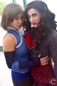 WonderCon Cosplay Sunday 2016 96 Korra and Asami