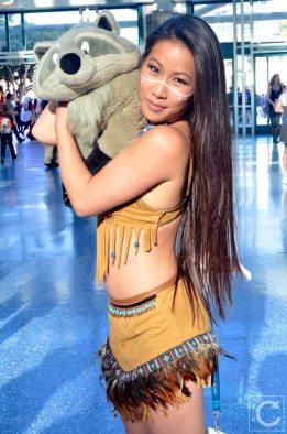 WonderCon Cosplay Sunday 2016 98 Pocahontas