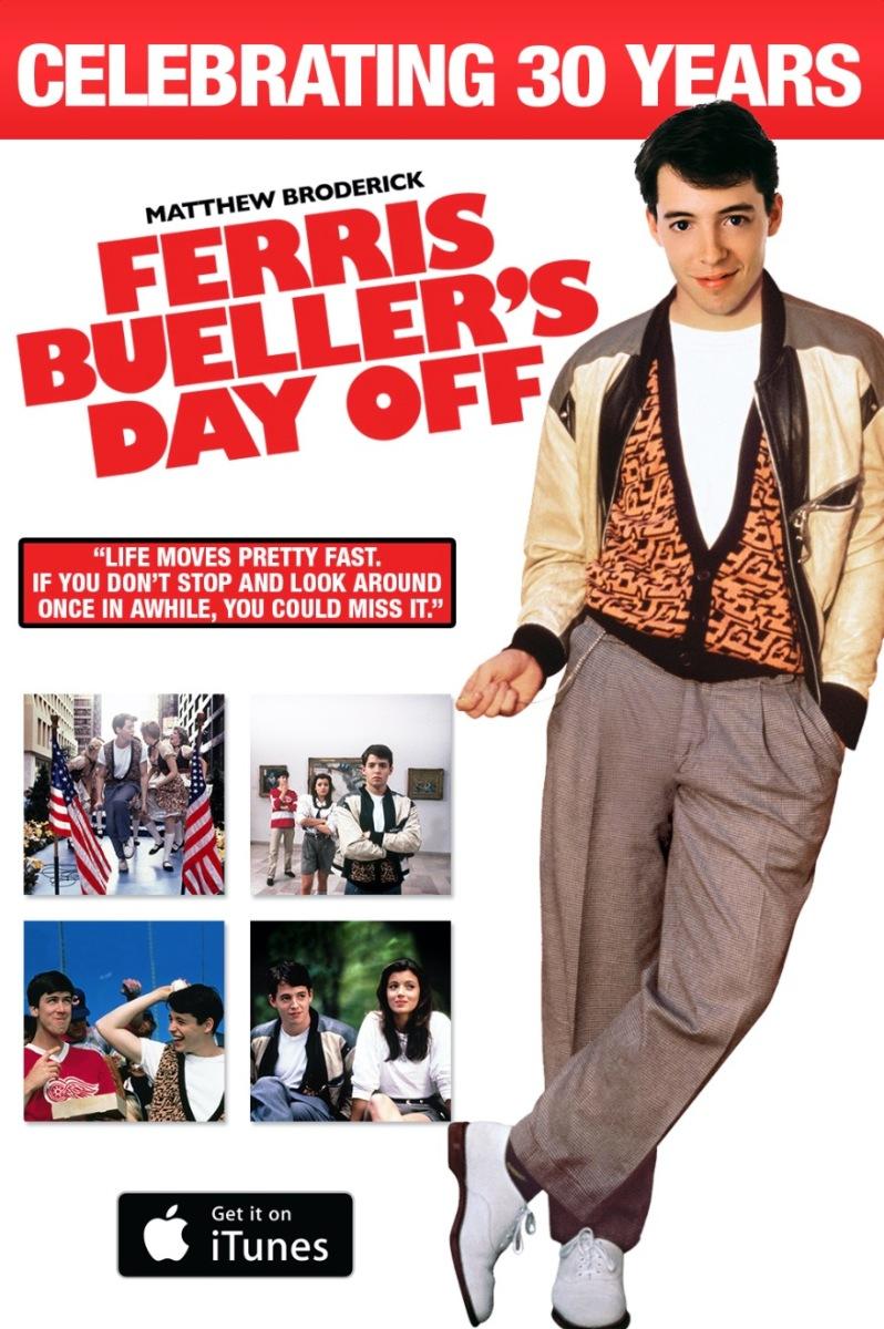 Ferris Bueller's Day Off iTunes Release