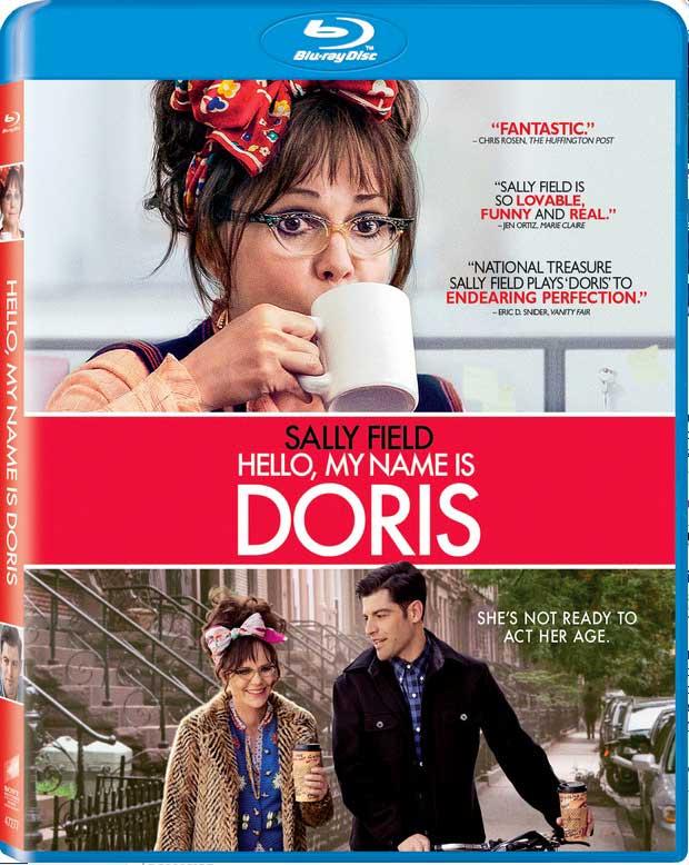 Hello My Name is Doris Blu-ray Box Cover Art