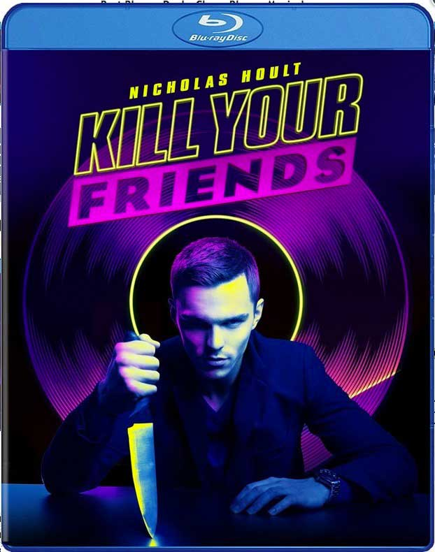 Kill Your Friends Blu-ray Box Cover Art