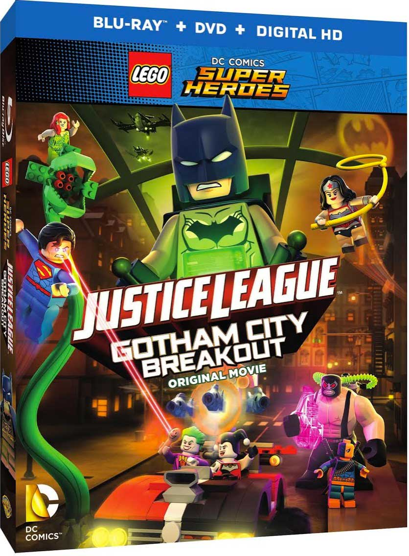 LEGO DC Comics Super Heroes Gotham City Breakout