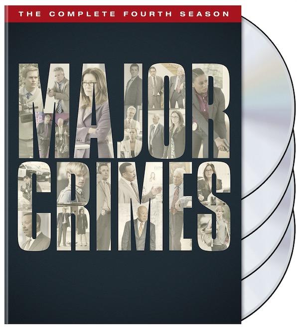 Major Crimes Season 4 DVD Box Cover Art