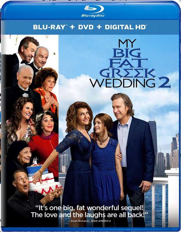 My Big Fat Greek Wedding 2 Blu-ray Box Cover Art