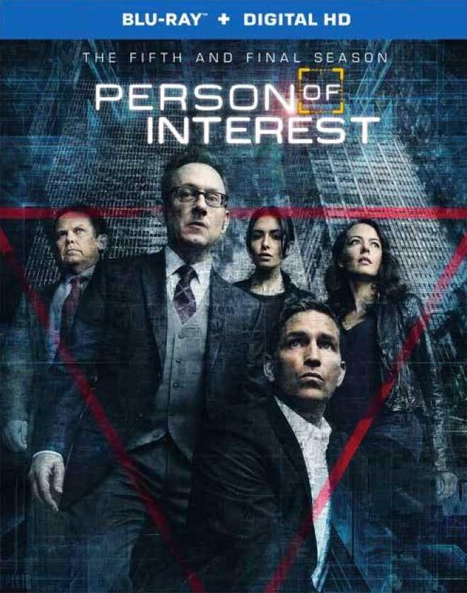 Person of Interest Season 5 Blu-ray Box Cover Art