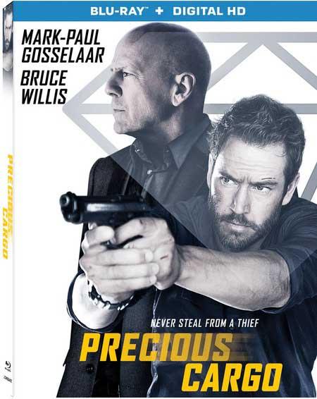 Precious Cargo Blu-ray Box Cover Art