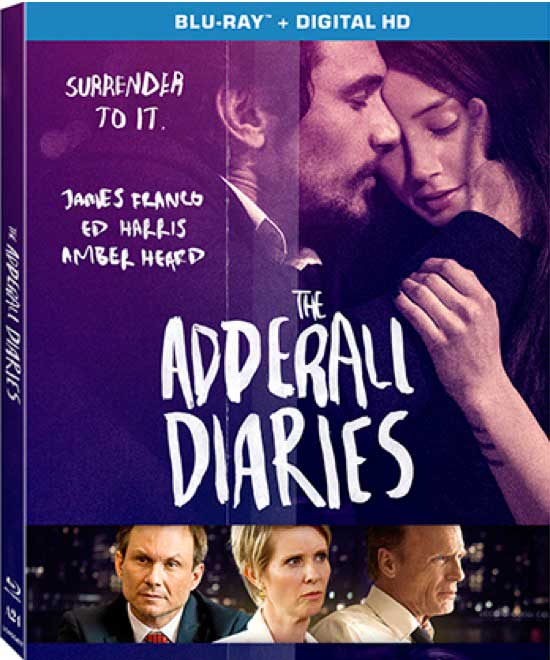 The Adderall Diaries Blu-ray Box Cover Art