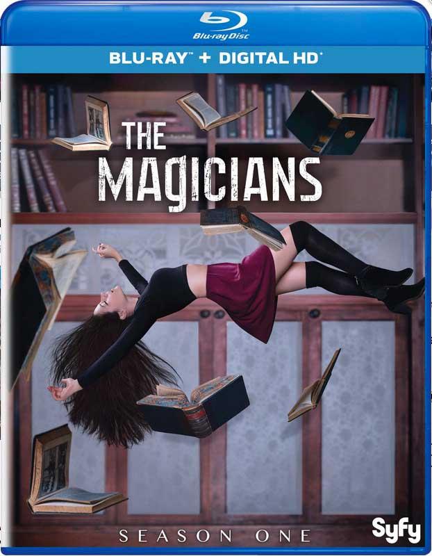The Magicians Season 1 Blu-ray Box Cover Art