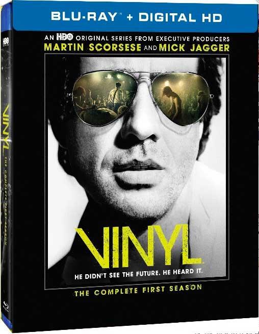 Vinyl Season 1 Blu-ray Box Cover Art