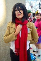 Anime Expo 2016 Cosplay 146 Mikasa Ackerman Attack on Titan